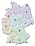 Карта фрг
